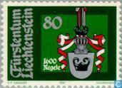 Postage Stamps - Liechtenstein - Heraldry