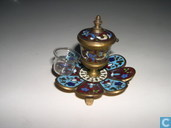 Stationery  - Inkwell - Cloisonne