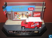 Modelauto's  - Matchbox - Ford Box Truck 'Coca-Cola'