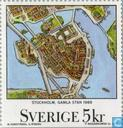 Postage Stamps - Sweden [SWE] - Maps of Sweden