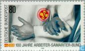 Postage Stamps - Germany, Federal Republic [DEU] - Voluntary help at work