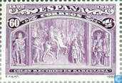 Postage Stamps - Spain [ESP] - Discovery America