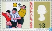 Briefmarken - Großbritannien [GBR] - World Cup Soccer