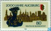 Postage Stamps - Germany, Federal Republic [DEU] - Augsburg 15vChr