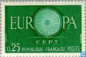 Postage Stamps - France [FRA] - Europe – Spoked Wheel