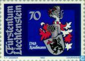Postzegels - Liechtenstein - Heraldische wapens