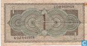 Bankbiljetten - Muntbiljet 1949 - 1 Gulden Nederland 1949