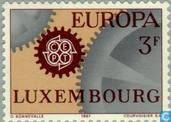 Postage Stamps - Luxembourg - Europe – Wheelwork