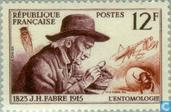 Postzegels - Frankrijk [FRA] - Jean-Henri Fabre