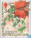 Postage Stamps - Jersey - Christmas Flora