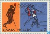 Postage Stamps - Greece - Olympic Games