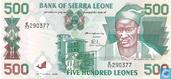 Billets de banque - Sierra Leone - 1995-2000 Issues - Sierra Leone 500 Leones 1995