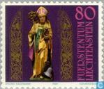 Timbres-poste - Liechtenstein - Célébration de Saint-Théodule 1600 années