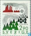 Postage Stamps - Sweden [SWE] - Europe – Nature conservation