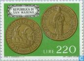 Postage Stamps - San Marino - Coins