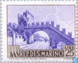 Timbres-poste - Saint-Marin - Paysages