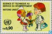 Timbres-poste - Nations unies - Genève - Le développement par la science et la technologie