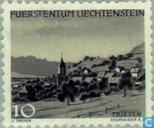 Timbres-poste - Liechtenstein - Paysages