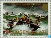 Timbres-poste - Jersey - Rescue 100 années