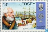 Timbres-poste - Jersey - Huguenot
