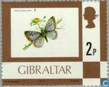 Postage Stamps - Gibraltar - Flowers and animals