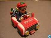 Model cars - Coca-Cola Company - Jeep Coca-Cola