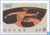 Briefmarken - Griechenland - Olympische Spiele