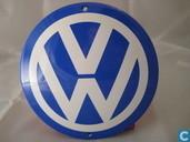 Plaques émaillées - Logo : Volkswagen - Emaille Reklamebord : Volkswagen