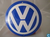 Emaille Reklamebord : Volkswagen