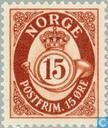 Postage Stamps - Norway - Post Horn