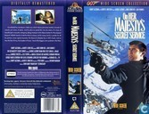 DVD / Video / Blu-ray - VHS video tape - On Her Majesty's Secret Service