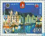 Postage Stamps - Norway - Norden-Sister Cities