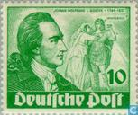 Postage Stamps - Berlin - Wolfgang von Goethe