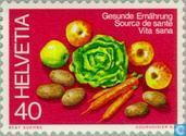 Postage Stamps - Switzerland [CHE] - Healthy food