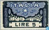Postage Stamps - Italy [ITA] - March on Rome