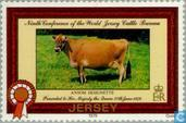 Briefmarken - Jersey - Internationale Veeconferentie