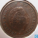 Coins - the Netherlands - Netherlands 1 cent 1957