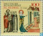 Hedwig, St. 750. Todesjahr