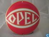 Plaques émaillées - Logo : Opel - Emaille Reklamebord : Opel