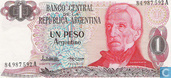 Billets de banque - 1983-85 ND Issue - Argentine 1 Peso Argentino 1983