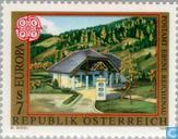 Timbres-poste - Autriche [AUT] - Europe – Bâtiments postaux