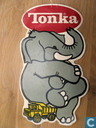 Miscellaneous - Tonka - Tonka cardboard display