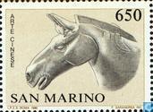 Postzegels - San Marino - Betrekkingen met China