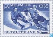 Timbres-poste - Finlande - Hockey sur glace