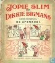 Strips - Jopie Slim en Dikkie Bigmans - De apenkooi