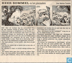 Strips - Bommel en Tom Poes - Heer Bommel en het platmaken