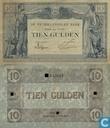 Most valuable item - 10 guilder 1921