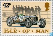 Postzegels - Man - Klassieke auto's