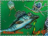 Postage Stamps - United Nations - Geneva - Int. Ocean Year