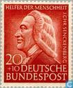 Postage Stamps - Germany, Federal Republic [DEU] - Senckenberg, Dr. Johann Christian 1707-1772